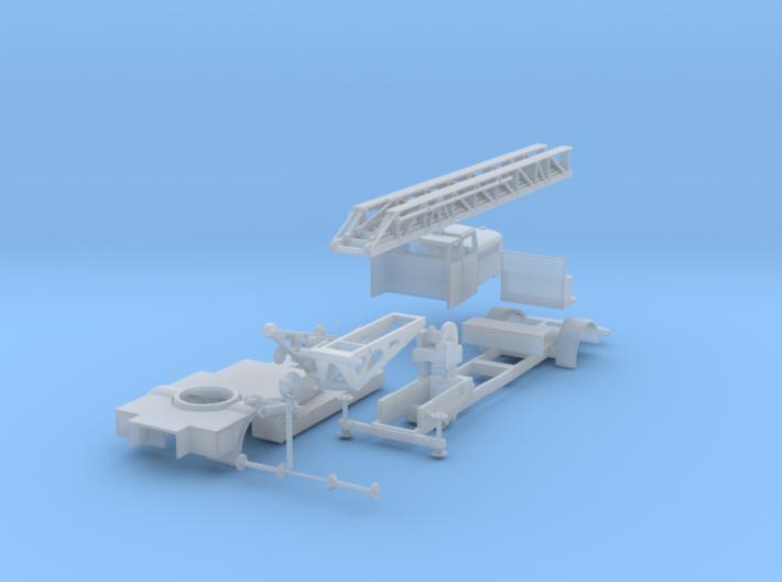 Magirus F145 KL26+2 FW Datteln 3d printed
