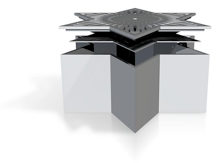 star jewelry box 3d printed