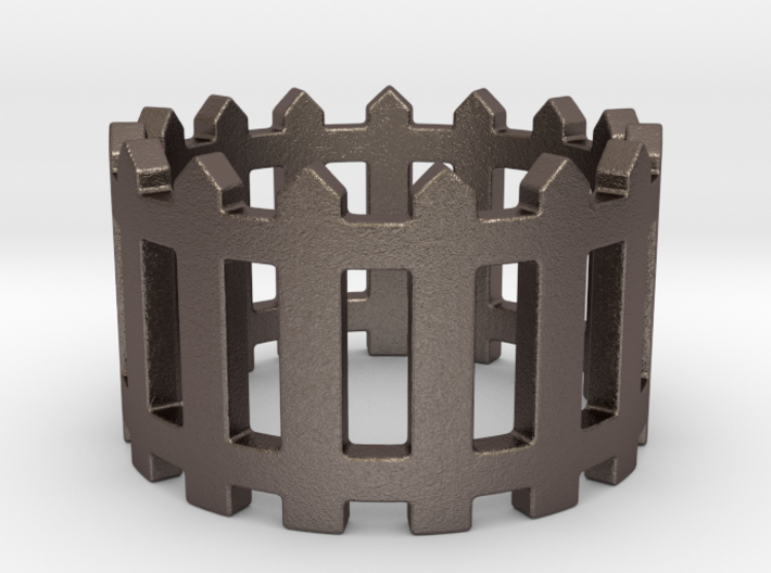 Fence Ring 3d printed