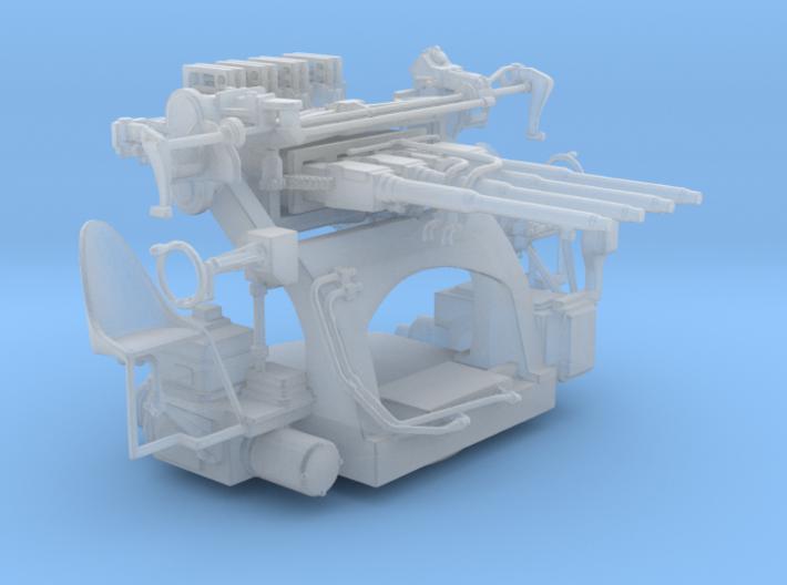 "1/96 1.1""/75 (28 mm) Quad Mount 3d printed"