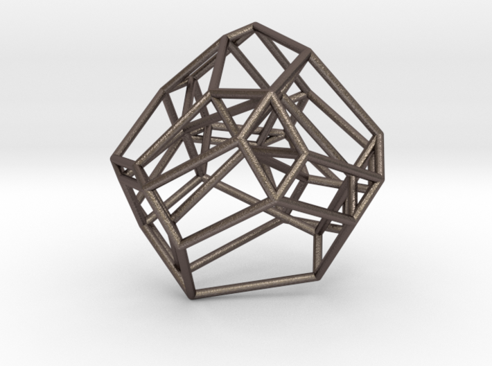 Associahedron 3d printed