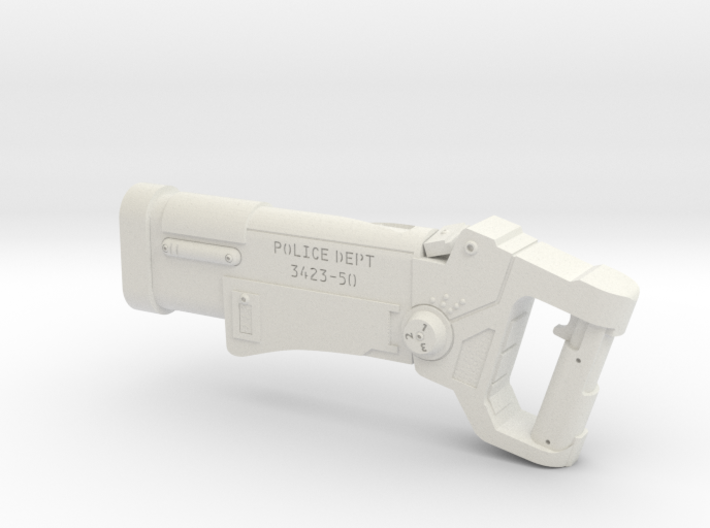 Police Blaster (The Fifth Element), 1/6 3d printed