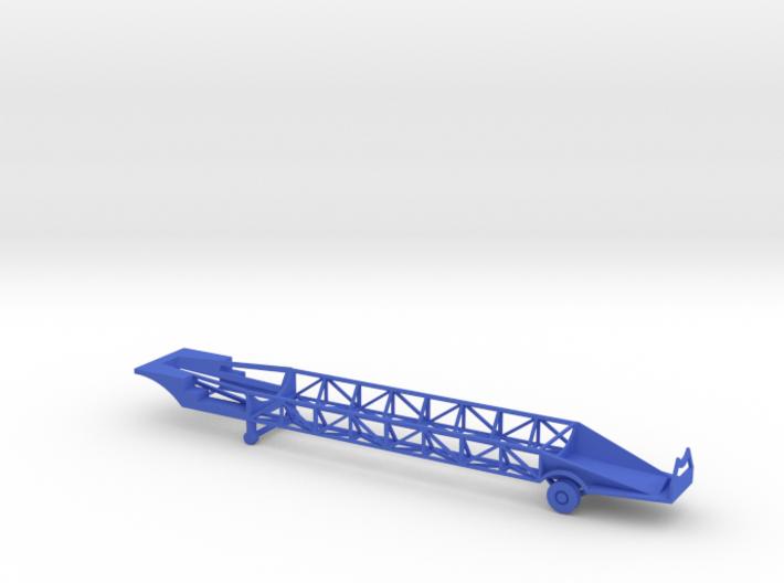 1/144 Scale Jupiter Missile Trailer 3d printed