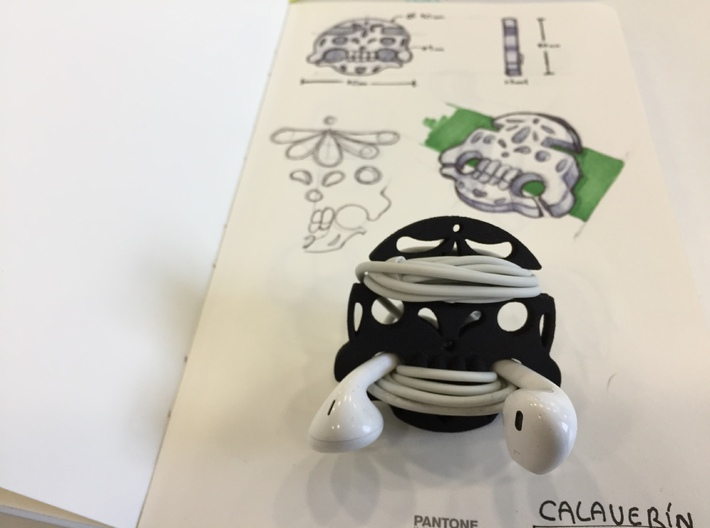 Calaverin 3d printed From scratch to product