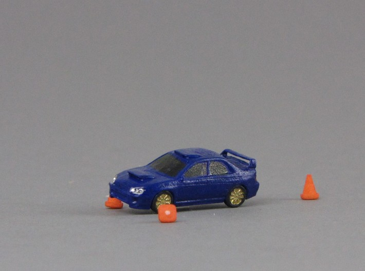 1:160 Spur N scale traffic cone Leitkegel Pylone 3d printed