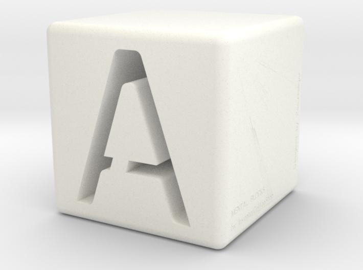 Mental Block A 3d printed