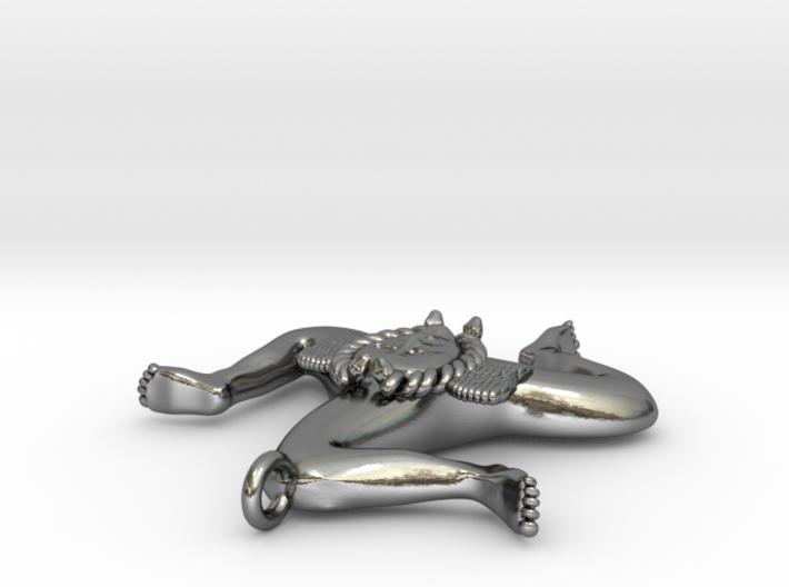 trinacria pendant 3d printed