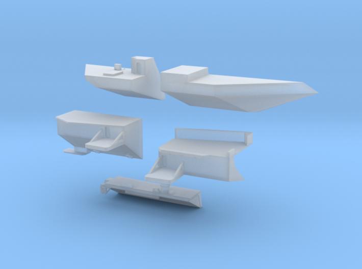 1:350 Scale USS Ronald Reagan 2006-2012 Update Set 3d printed
