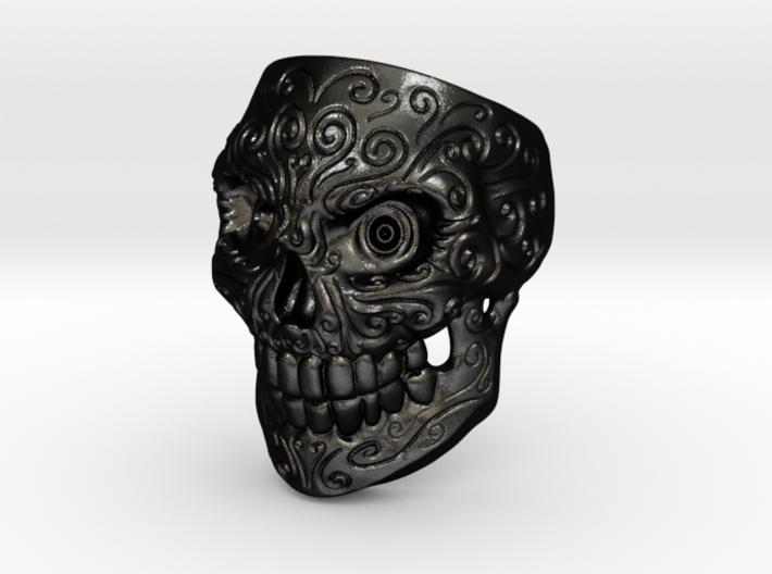 SkullPrintSize9 3d printed