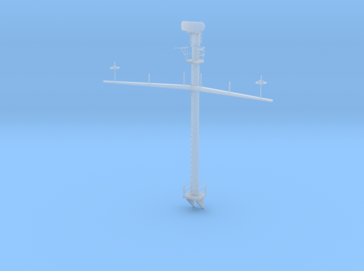 1/96 USS Iowa (BB-61) Main Mast 3d printed