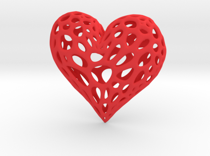 Organic Heart 3d printed