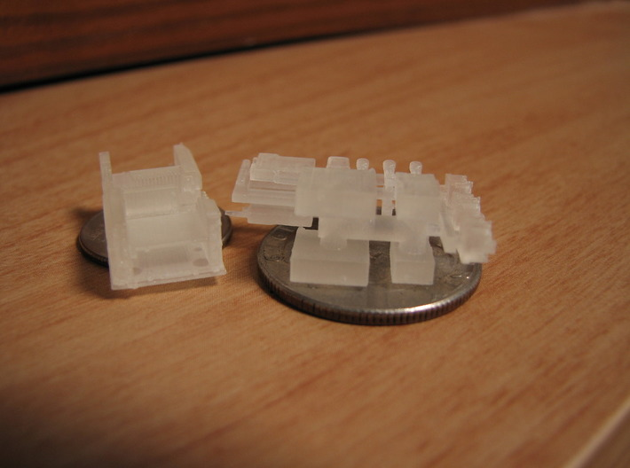 1/35, 1/16, 1/25 SINCGARS Radio Set MSP35-025 3d printed Picture by Daniel A.