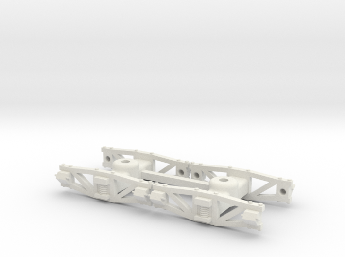 On2 Sandy River archbar trucks 3d printed