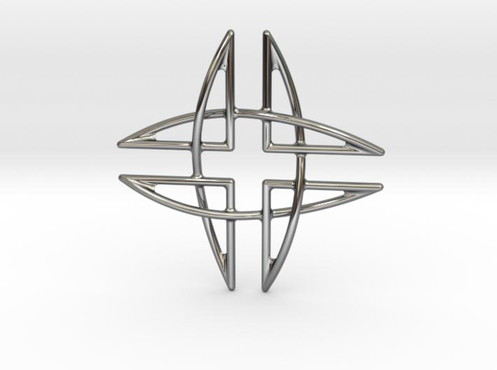 Aegis Pendant 3d printed