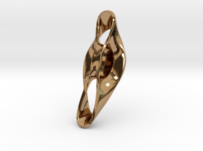 Triple Cube Brass 052 3d printed