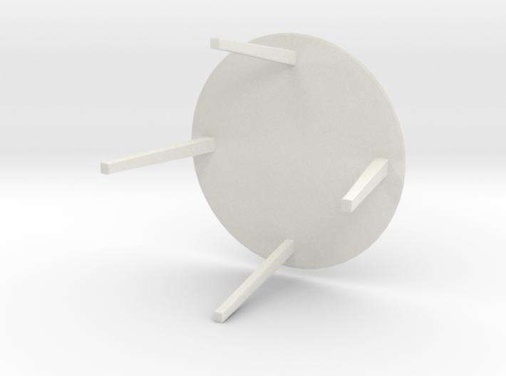 Gubi Table Lounge 3d printed
