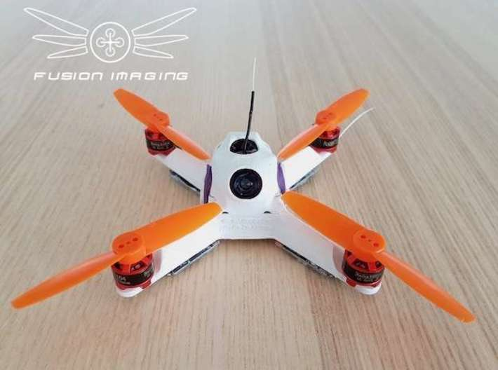 Fusion Micro FPV Frame 114 3d printed Fusion Micro FPV Frame - FRAME ONLY