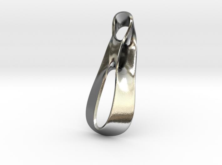 Triple Cube Silver 036 3d printed