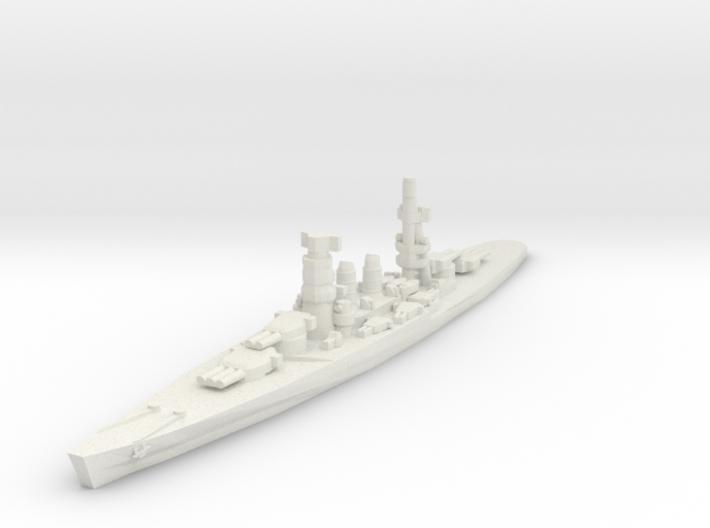 Conte di Cavour battleship 1/2400 3d printed