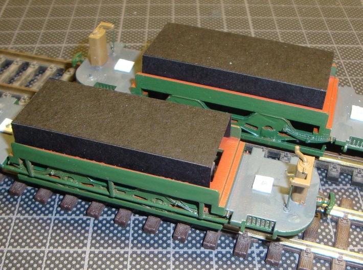 GETA 14-21 Tram  Chassis H0m 3d printed