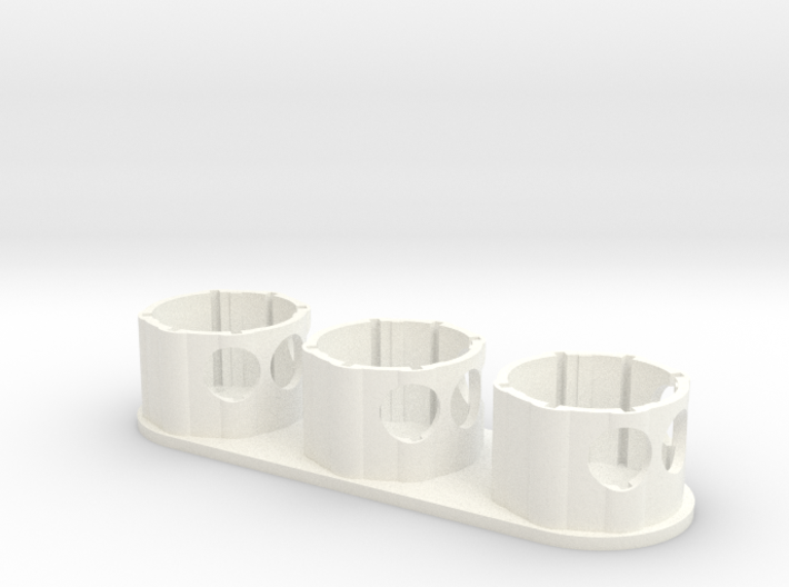 Holder - Dyson V8 x3 Tool - Wall Mount 3d printed