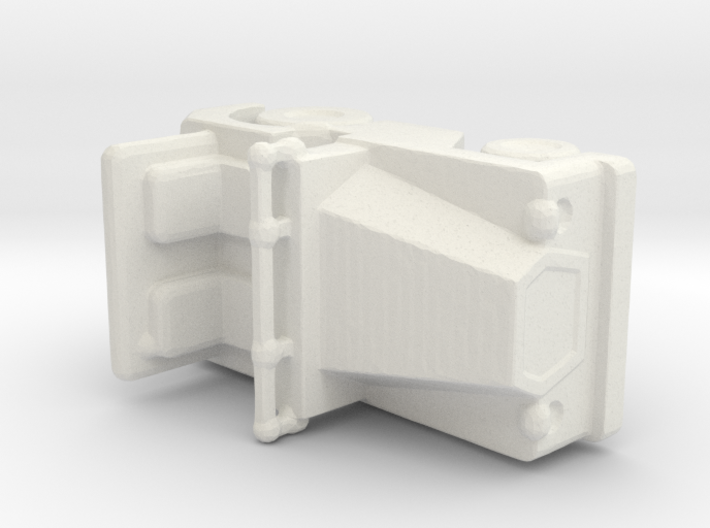 1/200 Scale SM340 Tow Tractor 3d printed