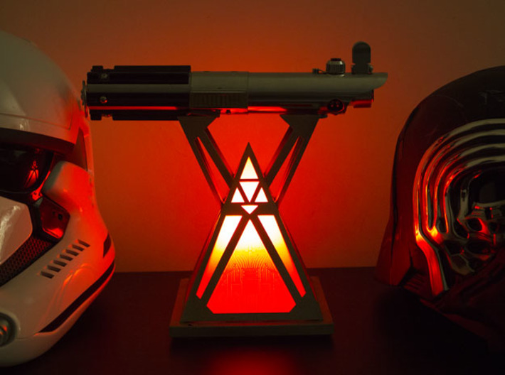 Stand Sith Holocron 3d printed