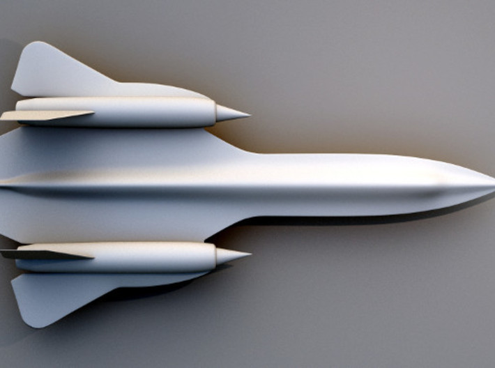 Sr-71 Blackbird 3d printed