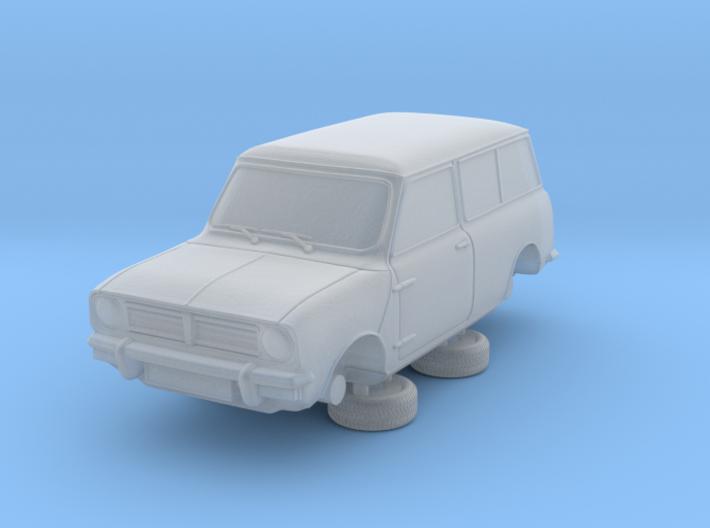 1-87 Austin Mini 74 Estate 3d printed
