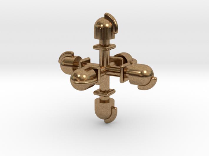 Dampflok Glocke (6x 1,6) 3d printed
