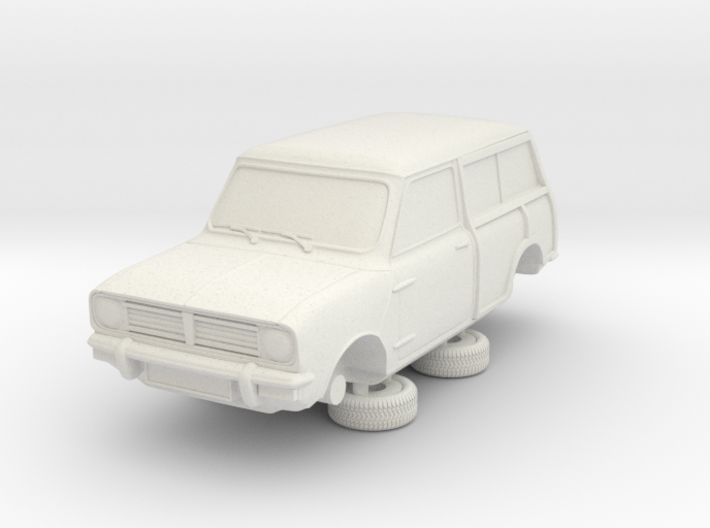 1-64 Austin Mini 74 Estate Clubman 3d printed