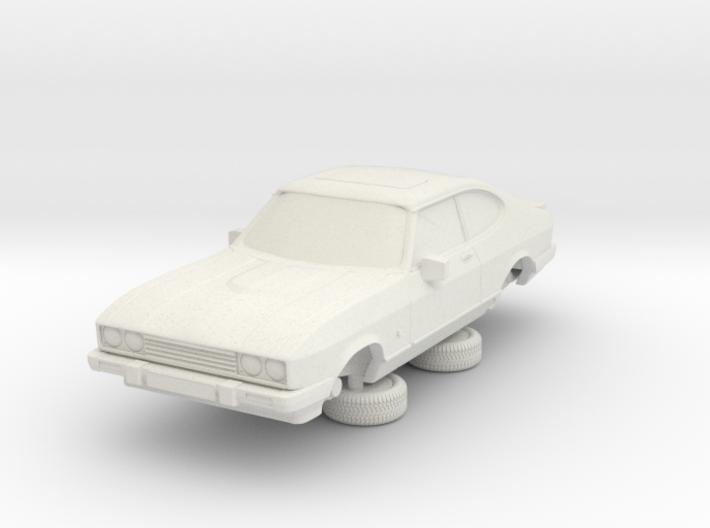1-64 Ford Capri Mk3 Standard 3d printed