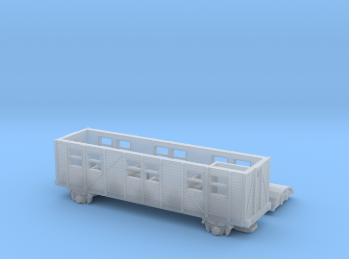 MCi-43 Behelfspersonenwagen (Z, 1:220) 3d printed