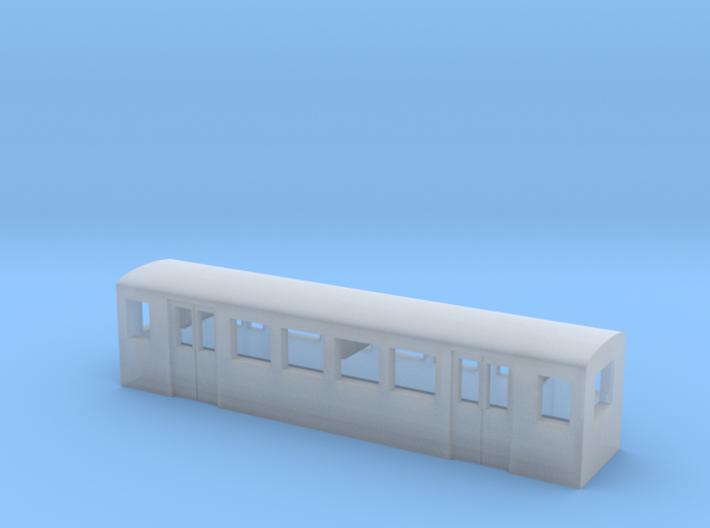 Parkeisenbahnwagen (Zf, 1:220, 3mm) 3d printed