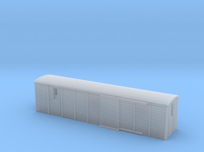 Schmalspur-Güterwagen (Zf, 1:220, 3mm) 3d printed