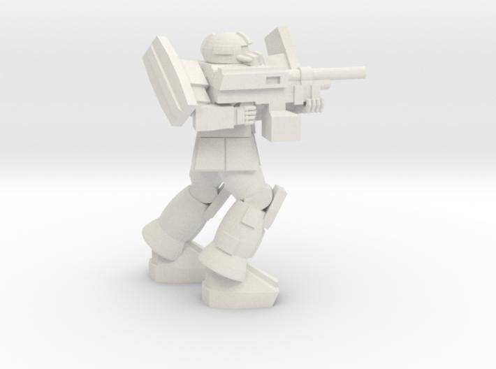 Bulldog pose 2 3d printed