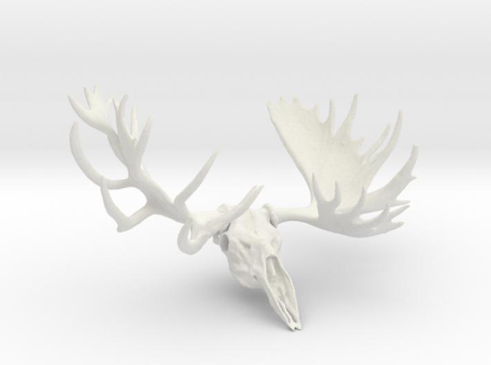"""""""Hook"""" the Moose European Mount 3d printed"""