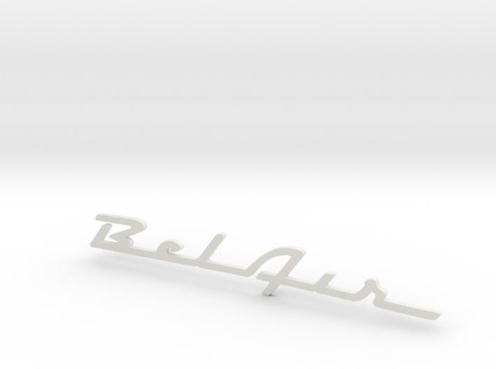 BelAir Script 3d printed