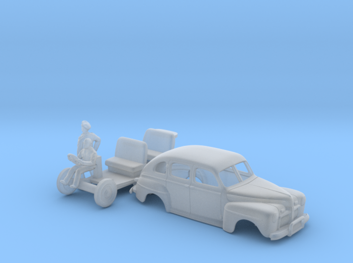 American Staff Car 1942 (N scale) 3d printed