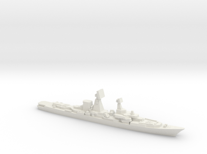 Cruiser Ochakov (Planned Modernization), 1/1800 3d printed