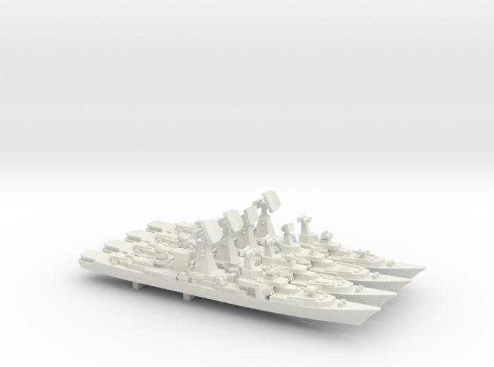 Kara Class evolution pack, 4 pc, 1/1800 3d printed