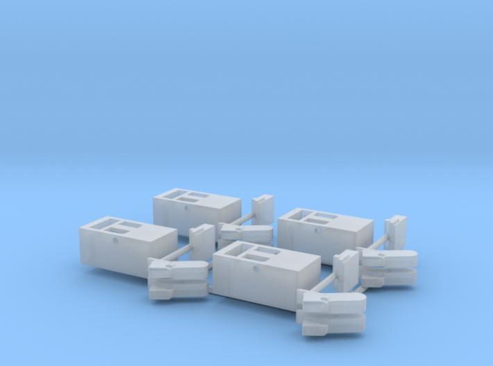 EP717 Gate Stop Blocks 3d printed