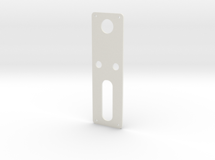 DNA60 Template - Mounting Plate Large Screen 3d printed