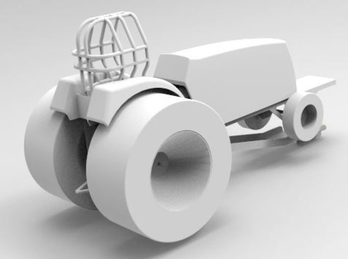 Super Stock Tractor fender, Innovative 3d printed