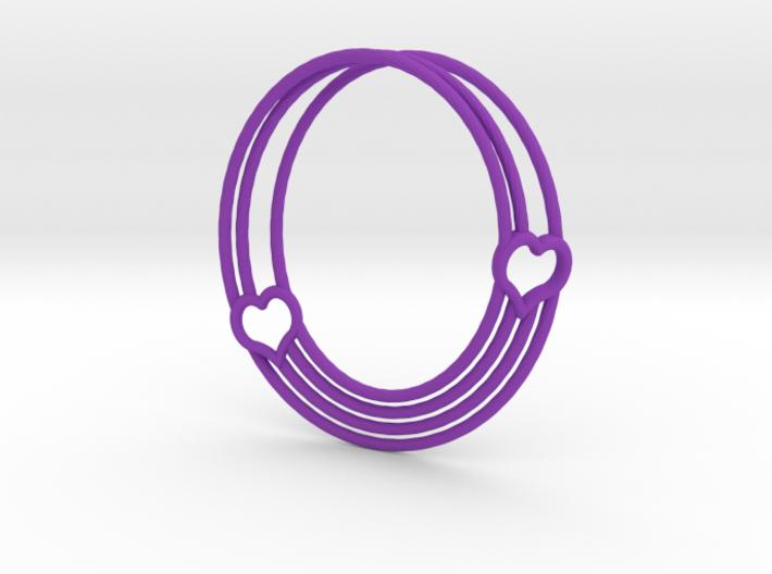 Coeur de Mobius 3d printed
