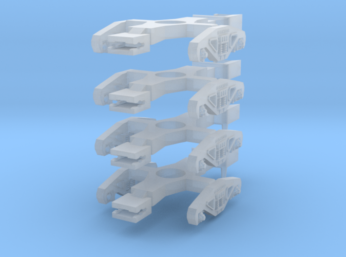 Gloucester Bogies (NGS compatible) 3d printed