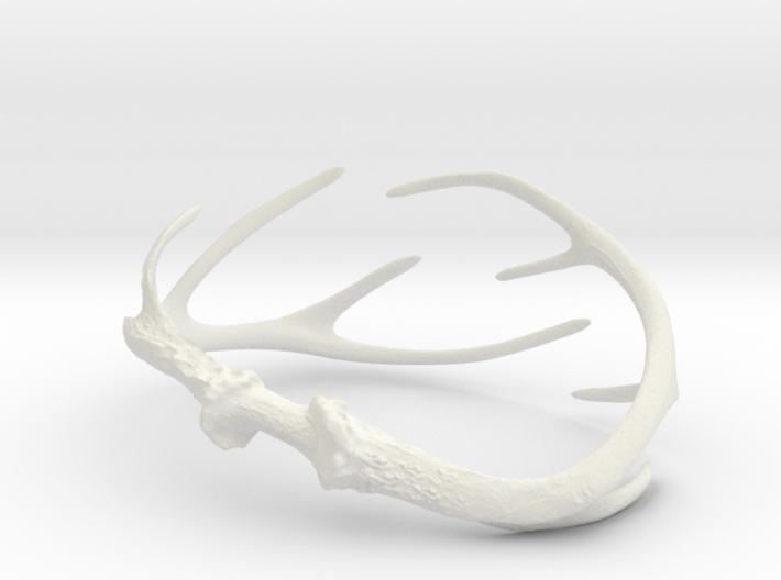 Antler Bracelet - Child size (65mm) 3d printed
