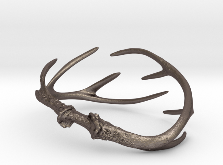 Antler Bracelet - Child size small (55mm) 3d printed