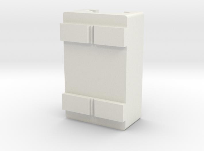 Nerf Clip:Magazine Side Rail Attachment 3d printed