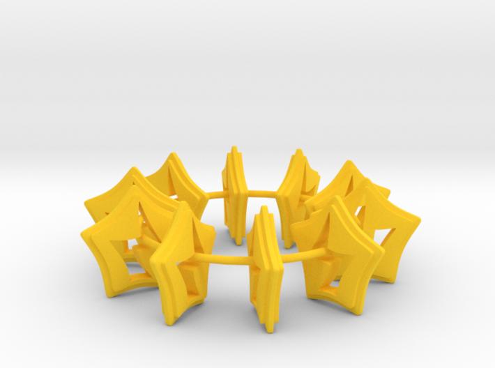 10 Energy Tokens 3d printed